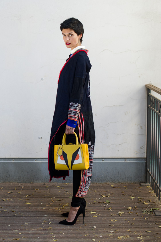 helena narra, makeup artist, christian louboutin, pigalle, red soles, yellow fendi bag