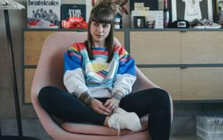 fashion workers, dina, yeezy boosts, job at adidas