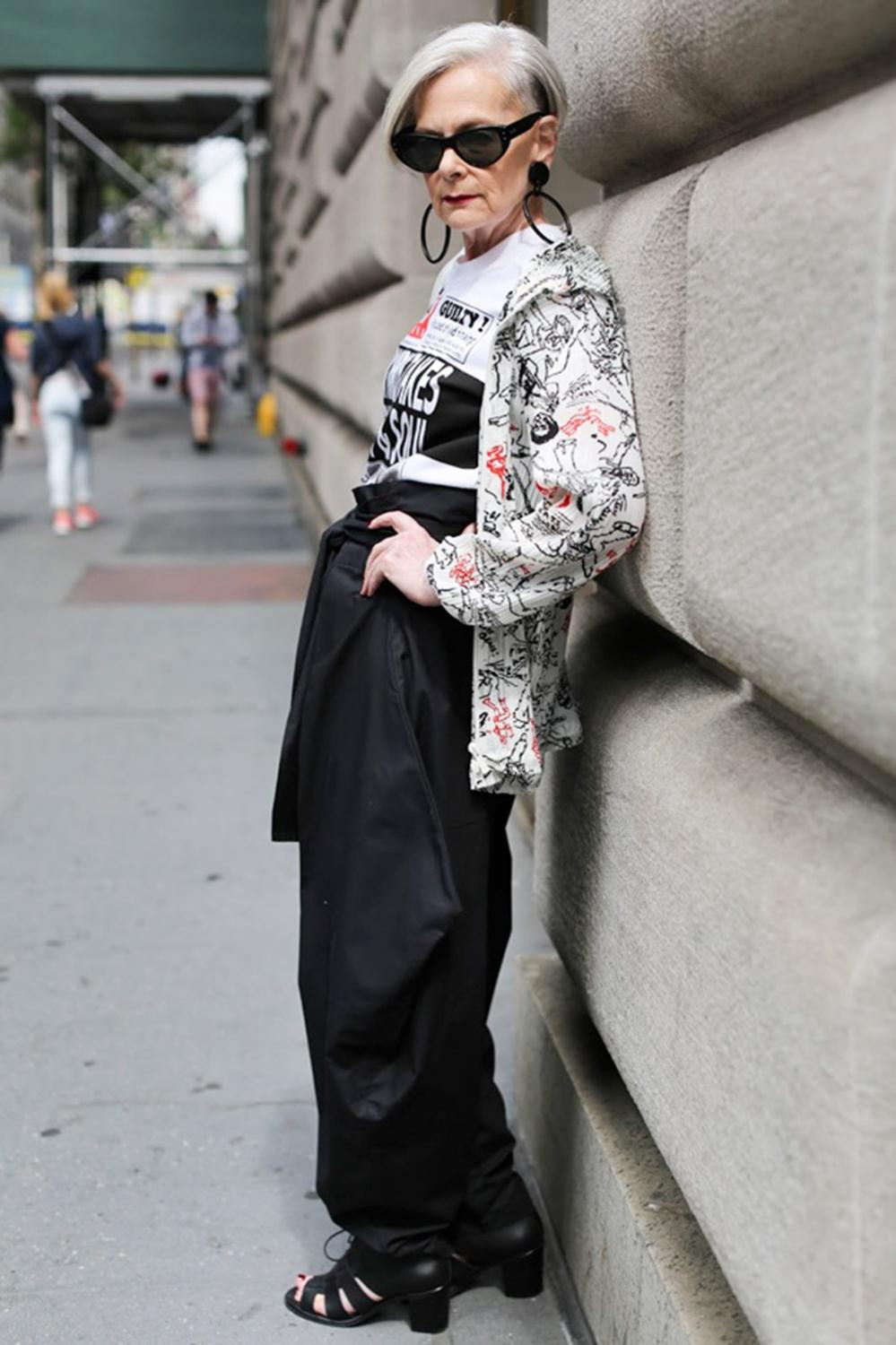 lyn slater, accidentail icon, style icon best age