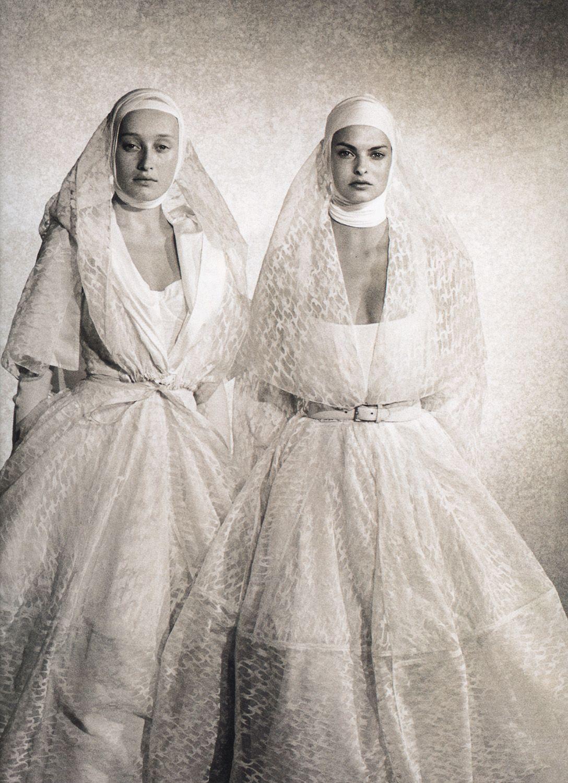 Azzedine Alaïa wedding dress