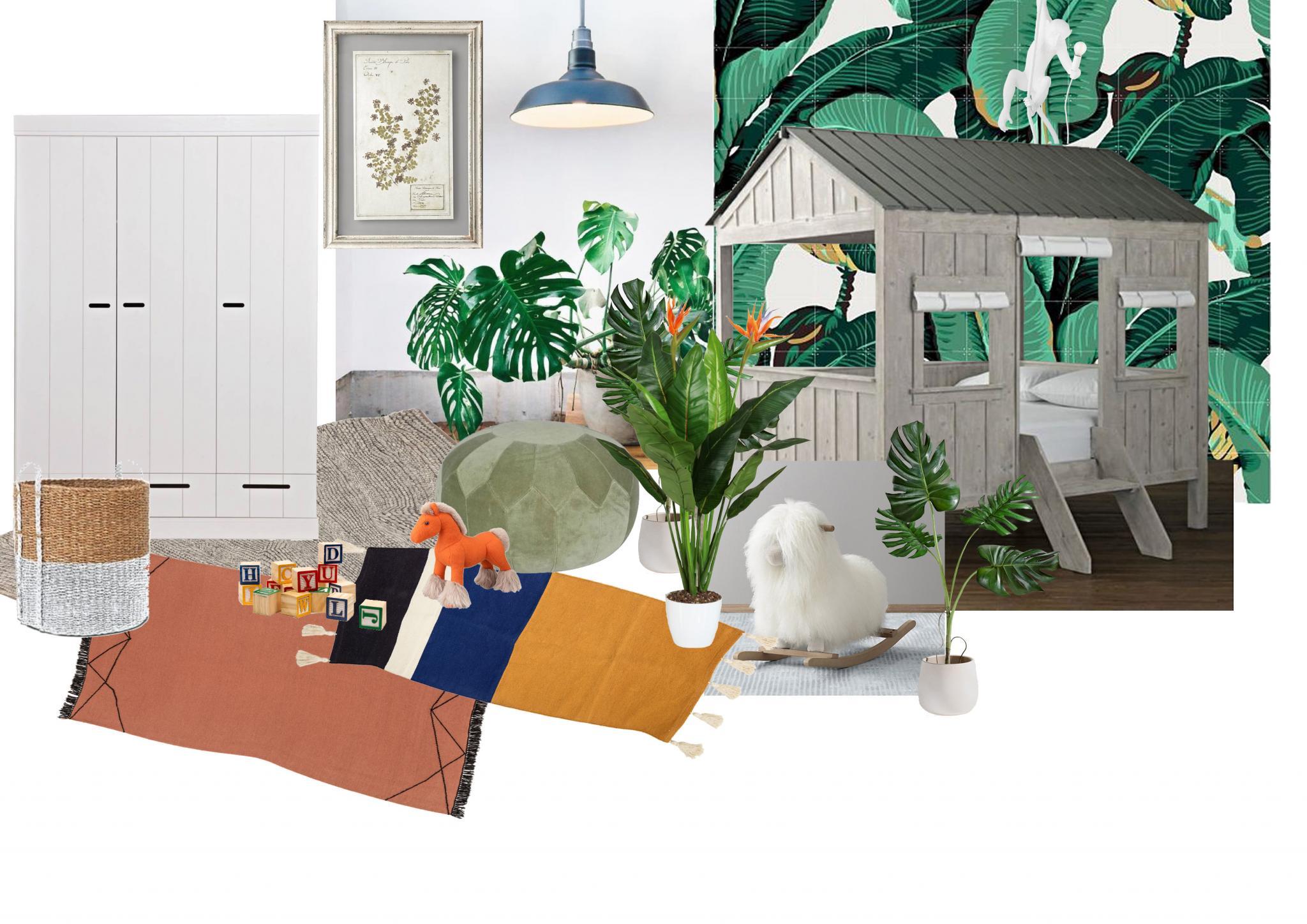 Kinderzimmer, nursery, botanical room, plants, Personal Issue