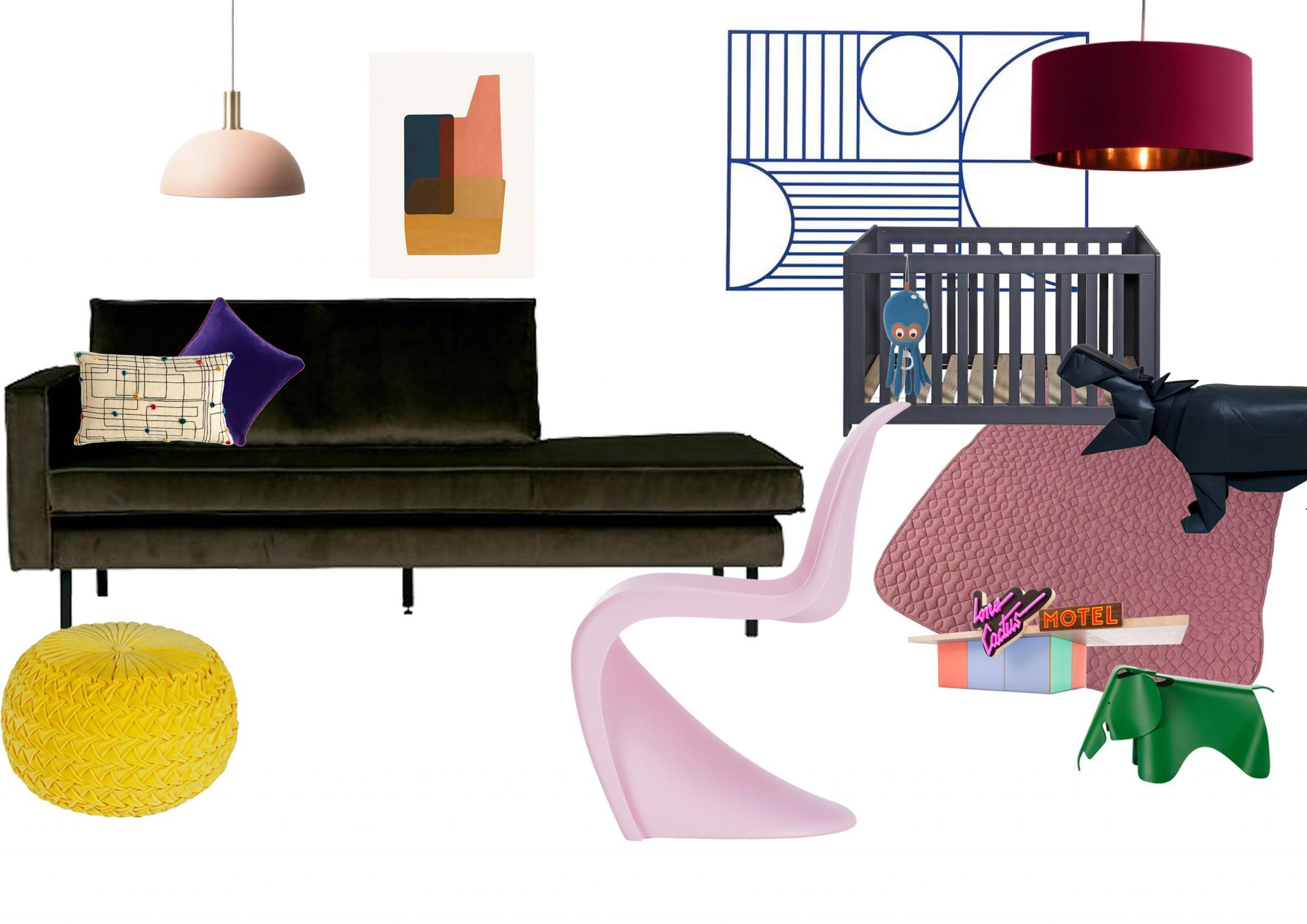 Kinderzimmer, colorful, furniture, nursery, Personal Issue