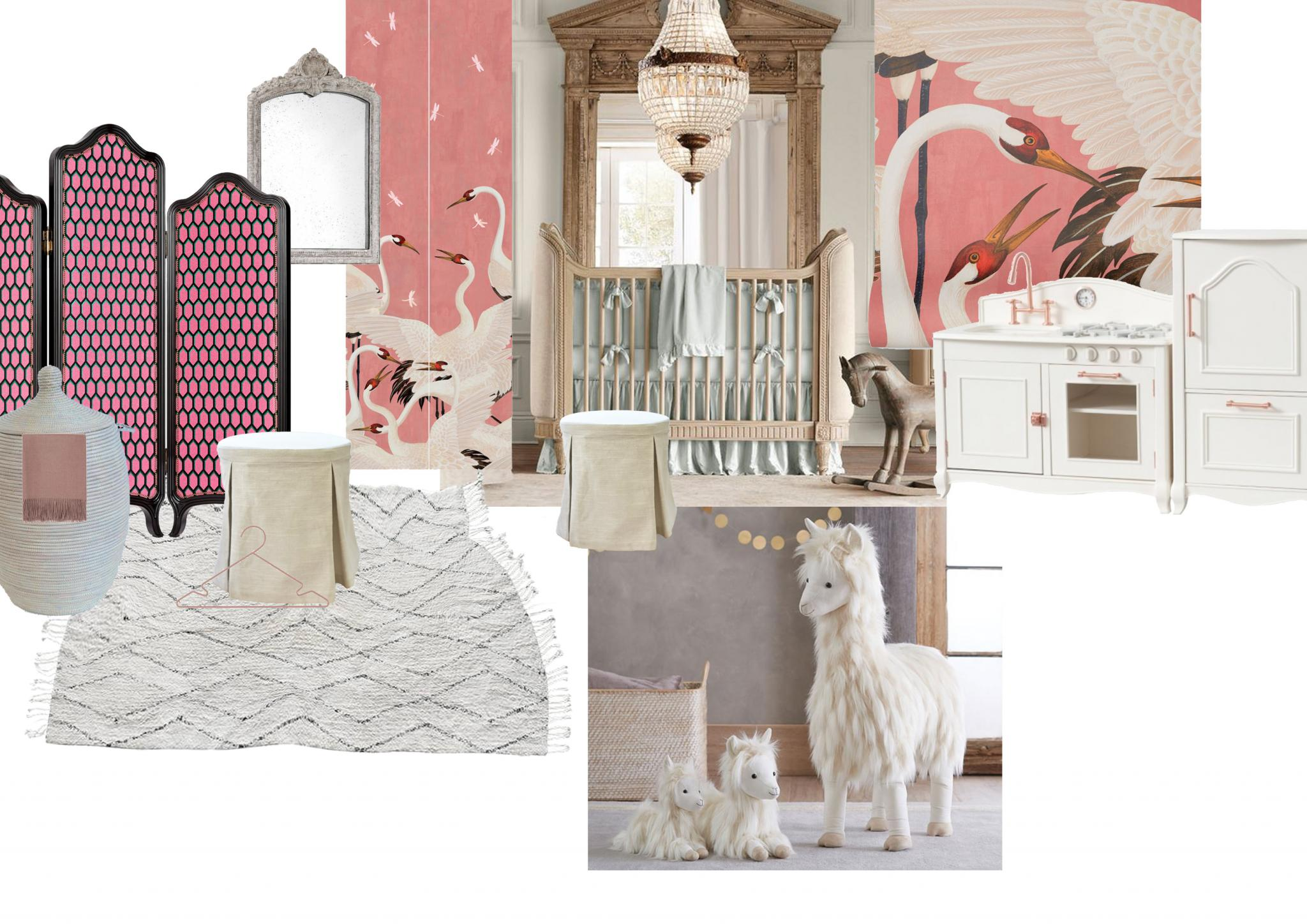 Kinderzimmer, nursery, princess room, girls, pink, Personal Issue