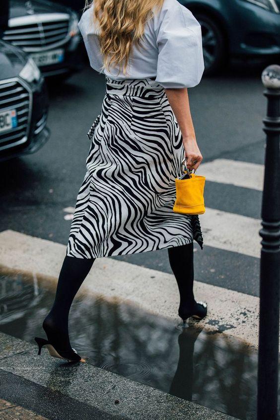 zebra print, animal print, fw 2018 trend