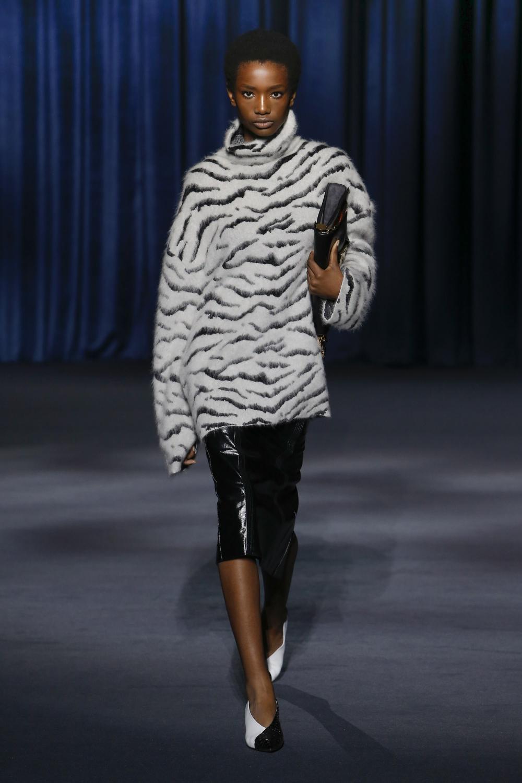 Givenchy, animal print, zebra print