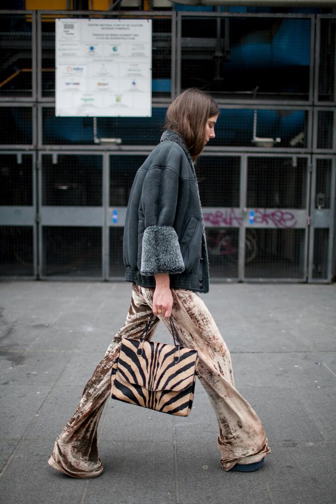 saint Laurent, zebra print, fw18